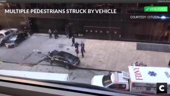 Multiple People Hit in Manhattan