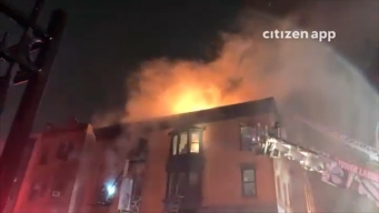 Fire Rips Through Brooklyn Building; No Injuries Reported