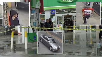 Photos Released of Duo Wanted in Killing of Man Pumping Gas