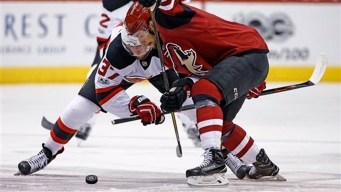 Coyotes Survive Rally to Hand Devils 10th Straight Loss, 5-4