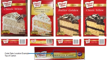 Duncan Hines Cake Mixes Recalled Due to Possible Salmonella