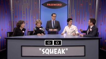 'Tonight': Password with Sprouse, Fonda and Tomlin