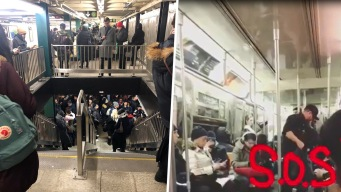 Riders Vent About Being Stuck on Train in Subway Meltdown