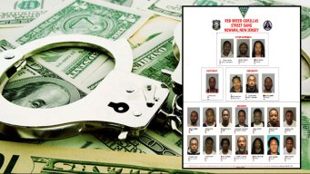 12 Arrested in Gang Sweep in Newark: Police