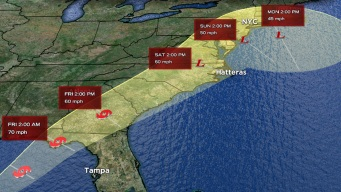 Tropical Storm Hermine Forms, Could Impact Tri-State