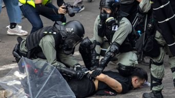 University Campus Under Siege as Hong Kong Police Battle Protesters