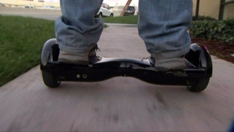 NJ Hoverboard Store Catches Fire