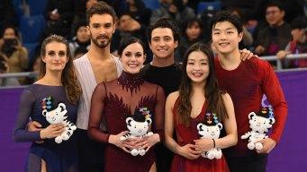 ICYMI: Shib Sibs Land on Ice Dancing Podium