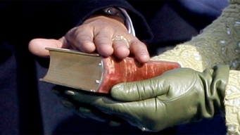 Obama's Inaugural Bibles: Lincoln, MLK