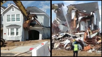 Jersey Shore Town Begins Demolishing Sandy-Hit Homes