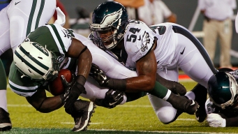 Tebow Throws 2 TD Passes in Eagles' 24-18 Loss to Jets