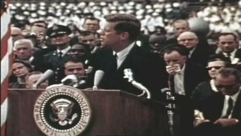 JFK on Space: 'We Choose to Go to the Moon'