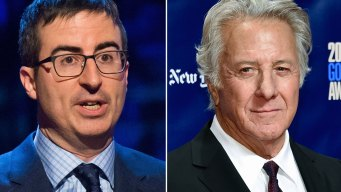 John Oliver Grills Dustin Hoffman on Sex Misconduct Claim