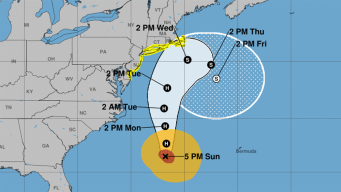 Jose Prompts Tropical Storm Watch for NJ, Long Island