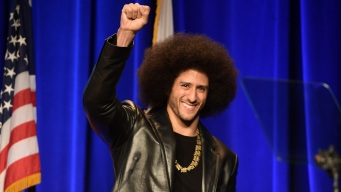 Kaepernick Featured in Nike's 'Just Do It' Campaign