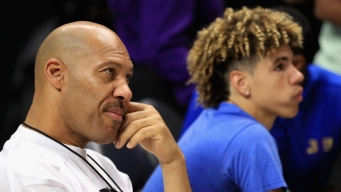 LaVar Ball Pulling Basketball Star Son LaMelo Out of School