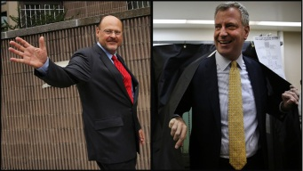 First Poll of General Election: Lhota Trails de Blasio