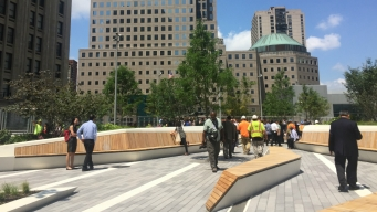 New Elevated Park Opens at One World Trade Center