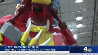 See the new Macy's Thanksgiving Day Parade Floats