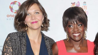 "Maggie Gyllenhaal and Viola Davis on ""Won't Back Down"""
