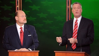 Lhota, de Blasio Clash on Crime, Taxes in Final Debate