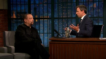 'Late Night': Ice T Is Going for 'Law & Order' Record