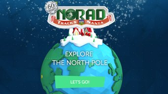 NORAD Santa Tracker Celebrates 60 Years
