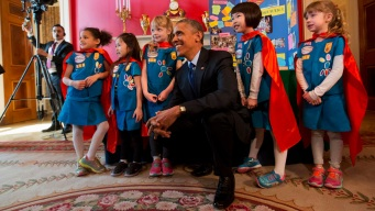 Girl Scouts Defend Their Involvement in Inauguration
