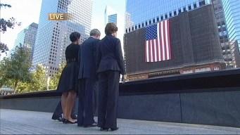 Obama, Bush Arrive at 9/11 Memorial
