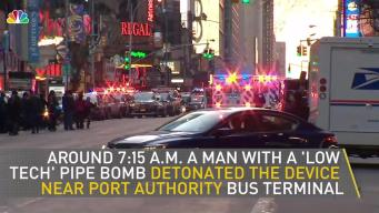 Video: How a Suspected Terror Attack Played Out in NY Monday