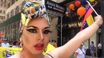 NYC's Pride Parade: Feathers, Balloons and Lots of Rainbows