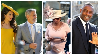 Winfrey, Clooneys, More Wedding Guests Arrive