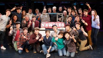"""Newsies"" Celebrate Second Anniversary"