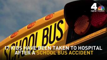 17 Kids Taken to Hospital After School Bus, Truck Collide