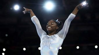 Simone Biles Wins 5th All-Around Title at Gymnastics Worlds