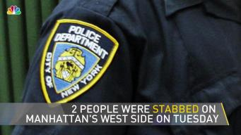 Two Stabbed on the West Side
