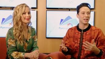 Johnny Weir, Tara Lipinski Ready to 'Bring It' to Pyeongchang