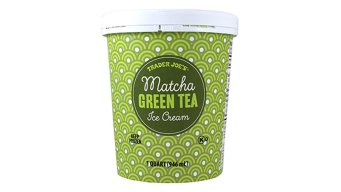 Trader Joe's Recalls Matcha Green Tea Ice Cream