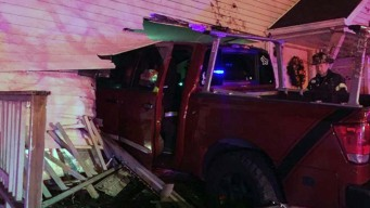 Truck Crashes Into House; 3 Hurt: Danbury Police