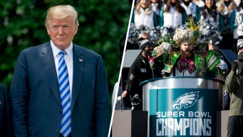 Trump Cancels Eagles' White House Visit, Citing Anthem Protests