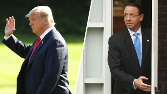 After Spat, Trump Says He Has No Plans to Fire Rosenstein