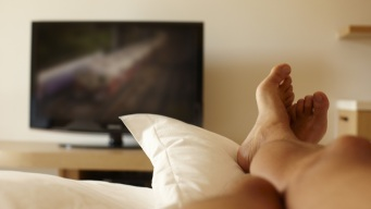 Sleeping With the TV On May Make You Gain Weight