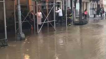 Madison Avenue Turns Into Stream After Water Main Break