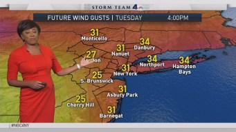 Forecast for Tuesday, Nov. 21