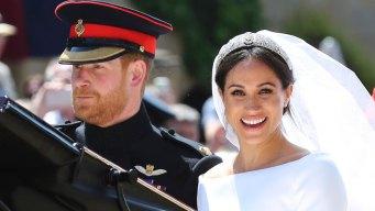 'Our California Girl': Celebs Tweet #RoyalWedding Congrats