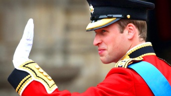 Prince William Shakes Nerves with Humor