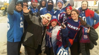 Giants Fans Trek to Wisconsin for Playoff