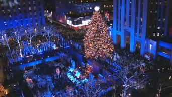 See the Rockefeller Center Christmas Tree