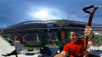 360° Video: Raphael Miranda, Erica Grow Ride Expo Zip Line
