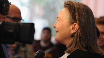 "Cherry Jones Keeps the ""Cradle"" Rocking"